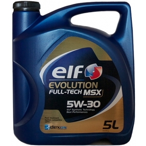 ELF EVO FULL TECH MSX 5W30 5L